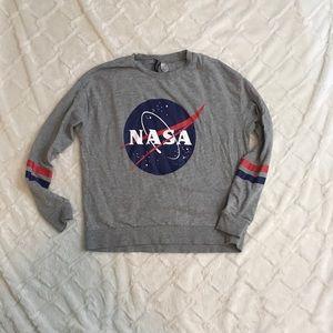 H&M NASA long sleeve top